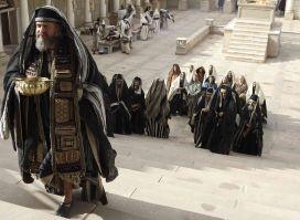 Zechariah on Stairs