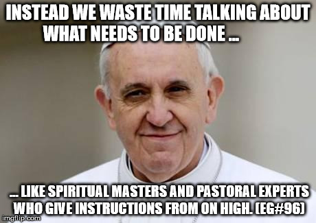 Instead we waste time talking about...